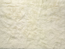 White wool background Royalty Free Stock Photos