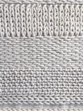 White wool knitted background Stock Photo