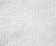 White woolen knitted sweater background Stock Photos