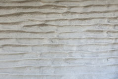 White and worn wall texture made of adobe bricks Royalty Free Stock Images