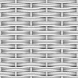 White woven rattan Royalty Free Stock Photo