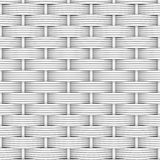 White woven rattan Royalty Free Stock Images