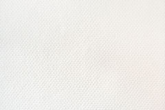 White woven wallpaper material Royalty Free Stock Photography