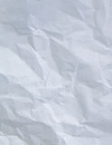 White wrinkle paper Stock Image
