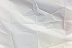 White wrinkled cloth Royalty Free Stock Photos
