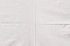 White wrinkled fabric texture Royalty Free Stock Images