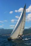 White yacht. Stock Photos