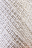 White Yarn close up Royalty Free Stock Image