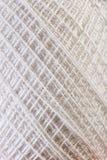 White Yarn close up Royalty Free Stock Image