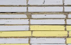 White and yello wood texture background Royalty Free Stock Image
