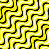 White, yellow and black wave lines backgorund. Yellow and black stripes background vector eps10. vector illustration
