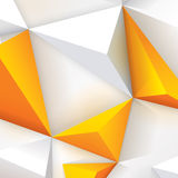 White and yellow geometric texture. Royalty Free Stock Image