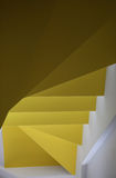 White Yellow Stairs Abstract Royalty Free Stock Photo