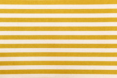 White and yellow striped fabric texture Royalty Free Stock Photography