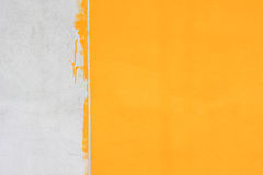 White and yellow wall stock images