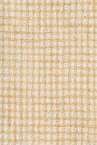 White and yellow woven fabric texture Royalty Free Stock Photo
