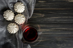 Free White Zephyr With Red Tea Stock Image - 86298101