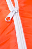 White zipper Royalty Free Stock Photo