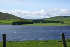 Whiteadder rezerwuar, Wschodni Lothian, Szkocja Fotografia Royalty Free