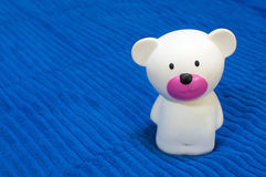 whiteBear Stuk speelgoed Stock Afbeelding