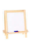 Whiteboard avec des repères Photo stock