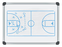 Whiteboard basketball vector illustration