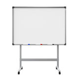 Whiteboard in bianco illustrazione di stock
