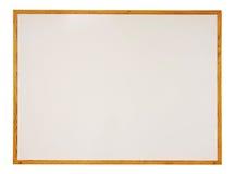 Whiteboard in bianco isolato Fotografia Stock