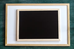 Whiteboard blackboard chalkboard Zdjęcia Stock
