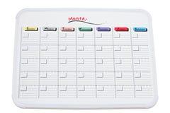 Whiteboard Calendar Royalty Free Stock Photography