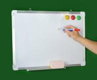 whiteboard de repère de fixation photographie stock