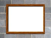 Whiteboard em branco Fotos de Stock Royalty Free