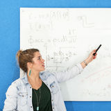 Whiteboard engineering Royalty Free Stock Images