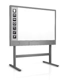 Whiteboard interactif Photographie stock