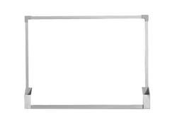 Whiteboard isolou-se Imagem de Stock