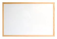 Whiteboard isolou-se sobre o branco Imagens de Stock Royalty Free