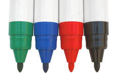 Whiteboard markers Stock Photography