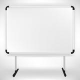 Whiteboard vacío Fotos de archivo