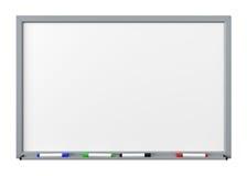 Whiteboard wycinanka Zdjęcie Stock