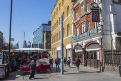 Whitechapelweg in Londen royalty-vrije stock foto
