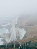 Whitecliffs του Ντόβερ Στοκ Φωτογραφίες