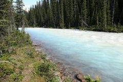 Whitecolored Kiking Horse River Stock Photo