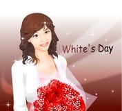 Whiteday Stock Images