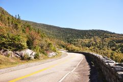 Whiteface山退伍军人纪念高速公路, NY,美国 免版税图库摄影