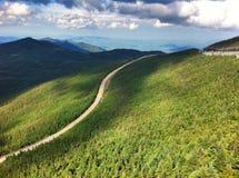 Whiteface berghuvudväg Royaltyfri Fotografi