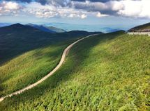 Whiteface Mountain highway Royalty Free Stock Photography