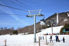 Whiteface Mountain Ski Area, Adirondacks Stock Images