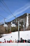 Whiteface Mountain Ski Area, Adirondacks Stock Image