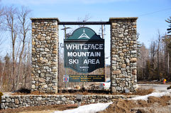 Whiteface Mountain Ski Area, Adirondacks Royalty Free Stock Photo