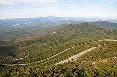 Whiteface Mountain Veterans Memorial Highway Royalty Free Stock Photo